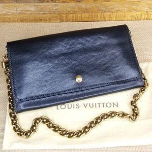 Louis Vuitton Sarah Cuir Boudin in Noir Black NWT!